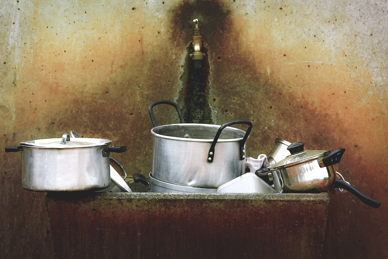 ステンレス鍋【焦げ汚れの磨き方】紙やすりでピカピカ!使える理由は