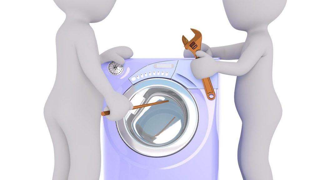 洗濯機が脱水エラーで止まる!原因と対処法