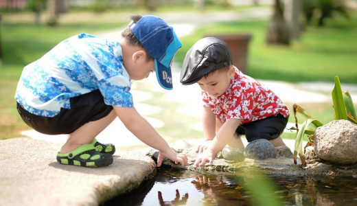 夢です!庭で子供が遊ぶような家!おすすめの庭とは?注意点も